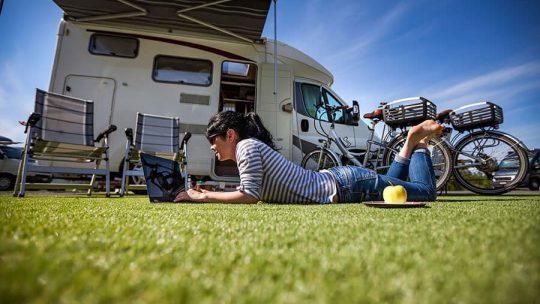 camping car pour partir en vacance